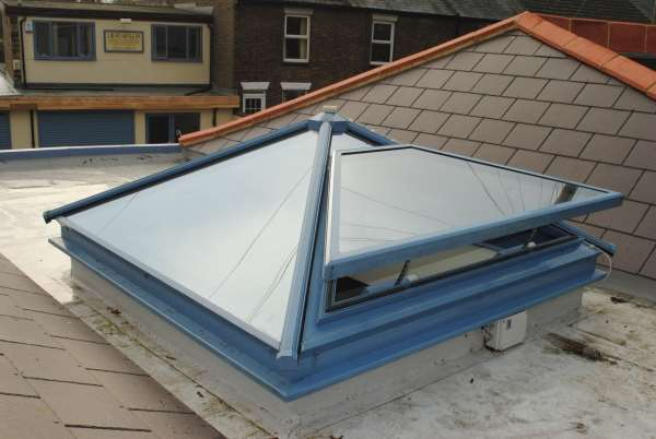 Pyramid Roof Lights