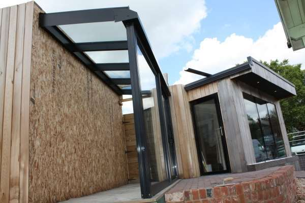 Mono Pitched Roofs Howells Glazing
