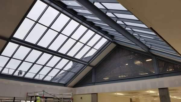 Double Pitched Roof Lights Howells Glazing