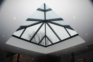 Pyramid Roof Light from Howells Patent Glazing
