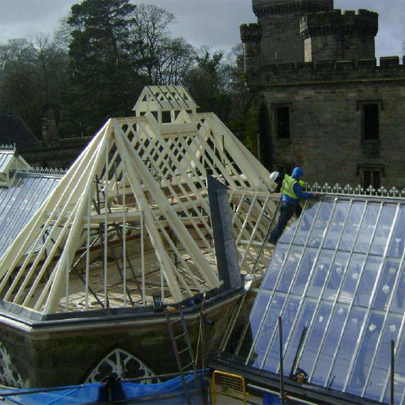 Howells Patent Glazing - Alton Towers Orangery